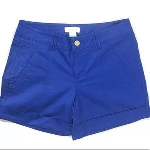 Cache' Womens Size 2 Stretch Shorts in Royal Blue!